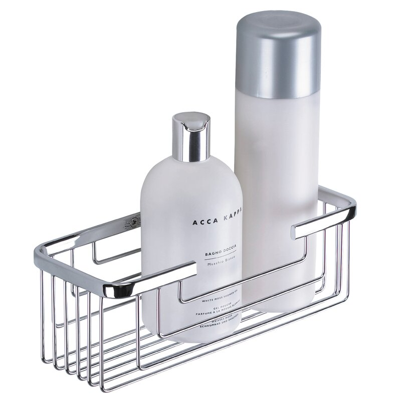 Delicieux Metal Wall Mounted Shower Caddy