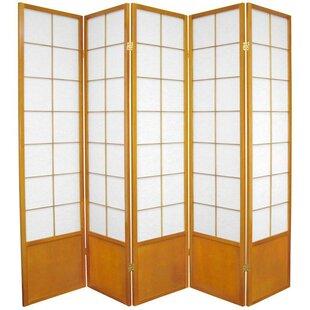 Camille Zen 5 Panel Room Divider