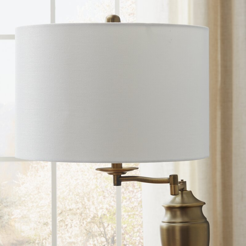 floors lamp asp floor swing base arm p antique brass