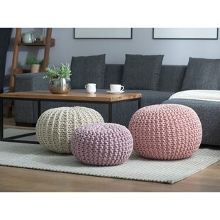 Gretna Pouf by Bungalow Rose