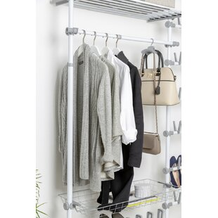 Mehara 120cm Wide Clothes Storage System By Rebrilliant
