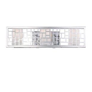 Designers Fountain Trellis 3-Light Bath Bar