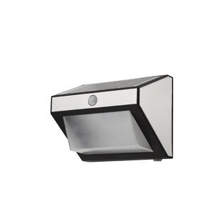 Aenwood LED Solar Outdoor Wall Lantern With Motion Sensor By Sol 72 Outdoor