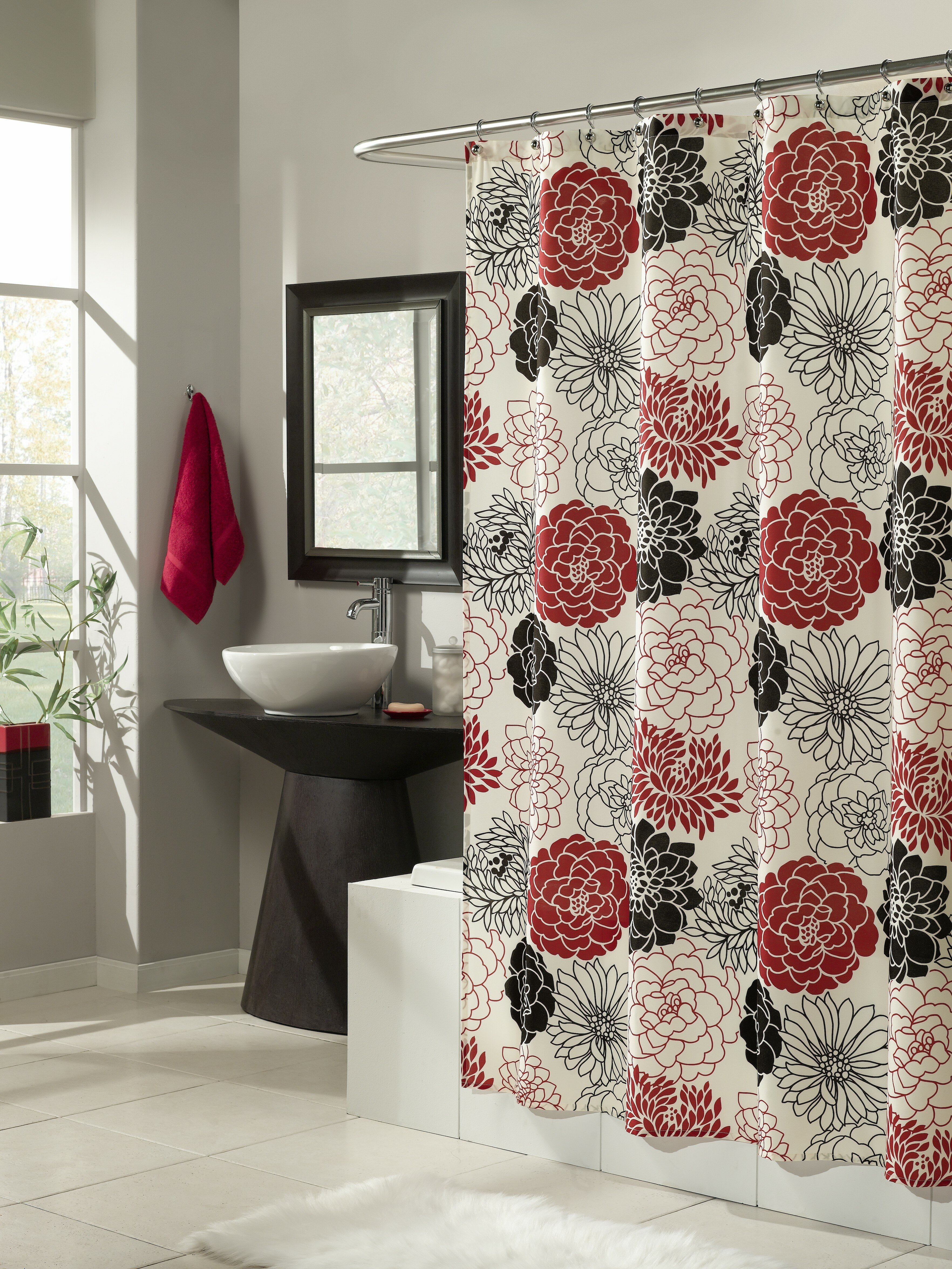 Mstyle Full Bloom Microfiber Shower Curtain Reviews