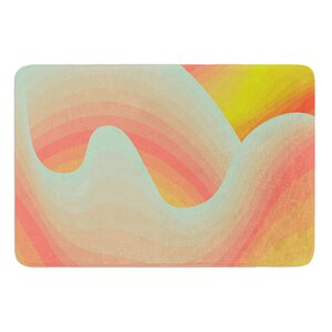 Way of the Waves by Akwaflorell Bath Mat