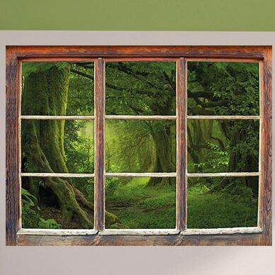 home loft concept tropical rainforest jungle wall sticker | wayfair