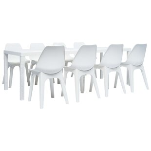 Mercy 8 Seater Dining Set By Sol 72 Outdoor