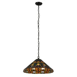 Meyda Tiffany Middleton 3-Light Cone Pend..