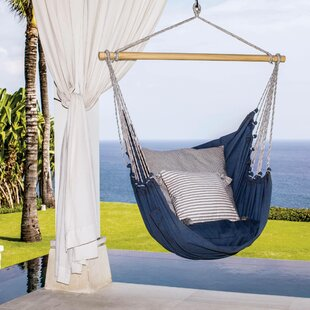 Rachelle El Salvador Cotton Porch Swing by Breakwater Bay