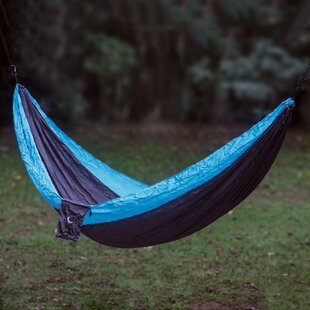 Highland Dreams Nylon Camping Hammock by Novica Discount