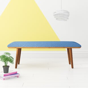 Aeliana Upholstered Bench by Hashtag Home