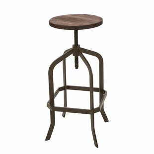 Tamie Adjustable Height Swivel Bar Stool ..