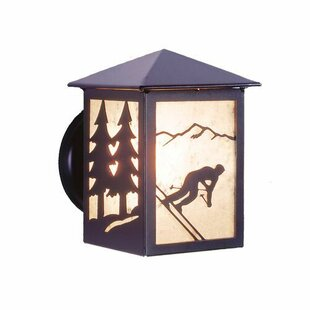 Steel Partners Skier 1-Light Outdoor Sconce