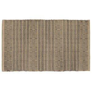 Sahara Hand Woven Khaki/Gray Area Rug