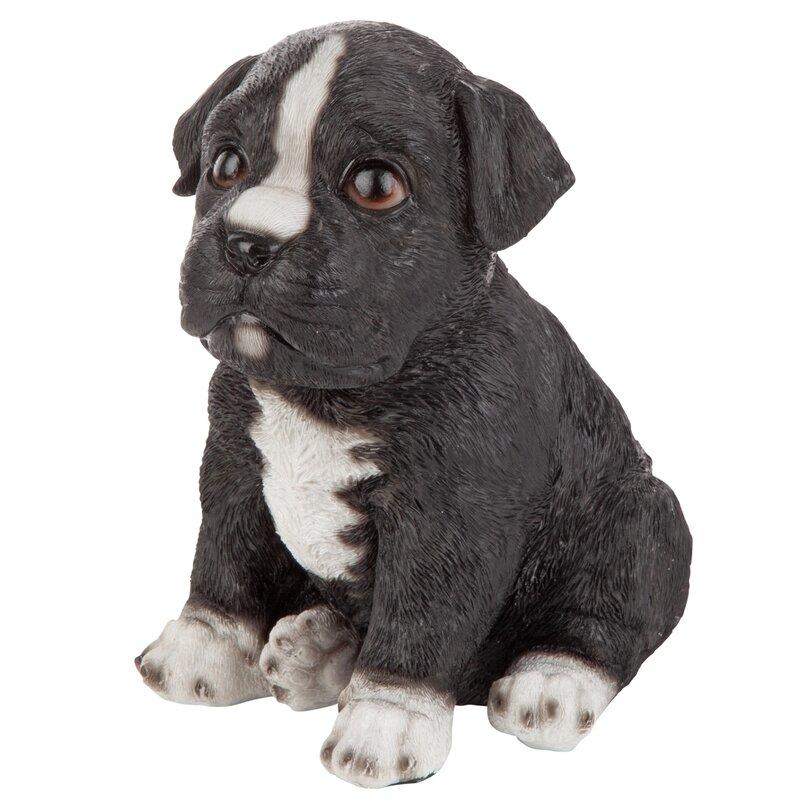 Design Toscano Border Collie Puppy Dog Statue
