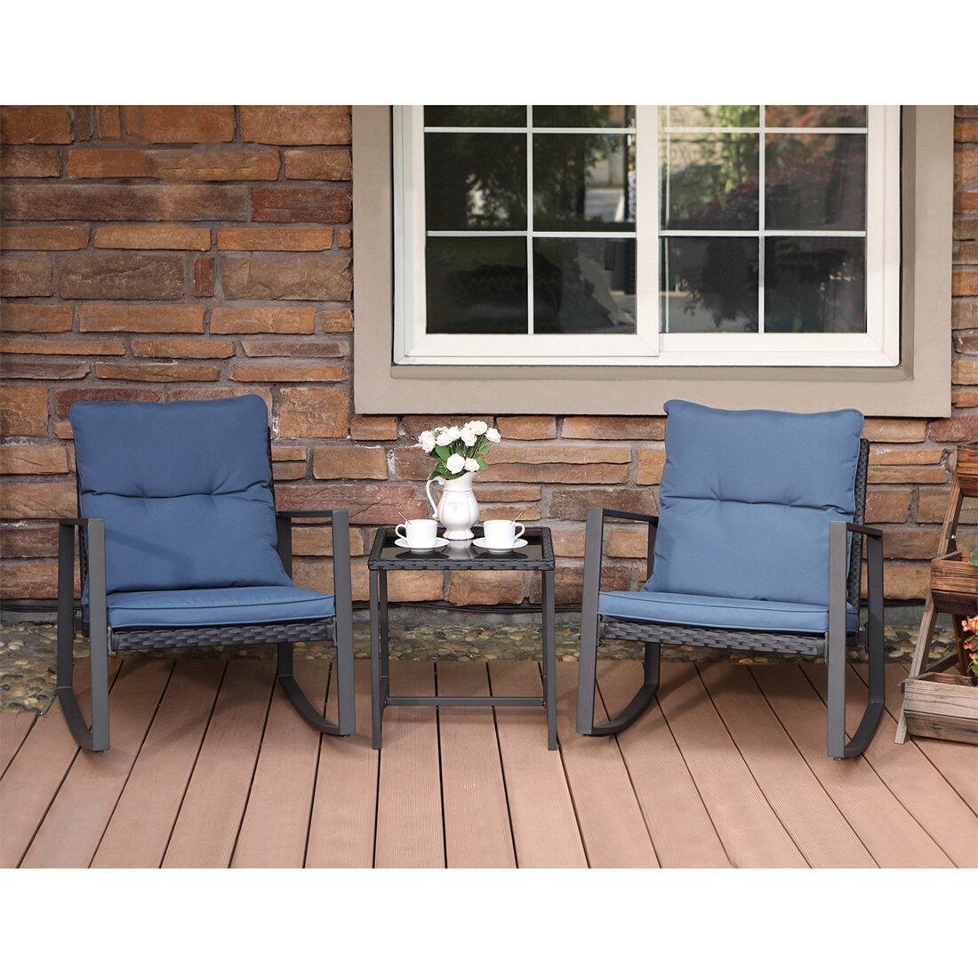 Outdoor Patio Furniture Rocking