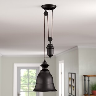 August Grove Elsenborn 1-Light Bell Pendant