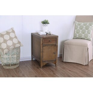 Caius Side Table by Millwood Pines Amazing