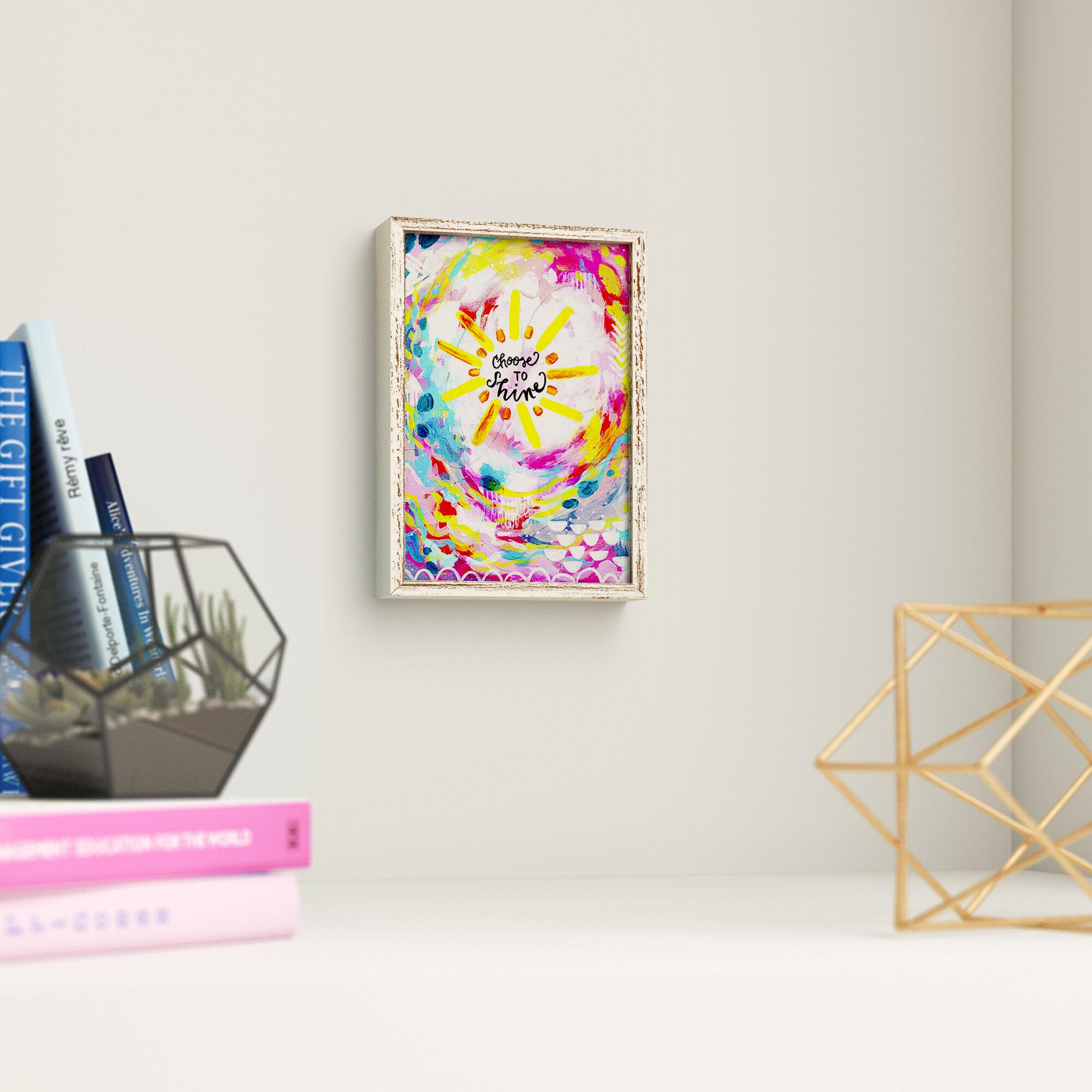 Trule Davidson Choose To Shine Mini Framed Art