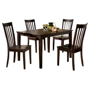 Crumley 5 Piece Dinette Set Charlton Home