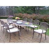 Mcgrady 9 Piece Dining Set with Cushions