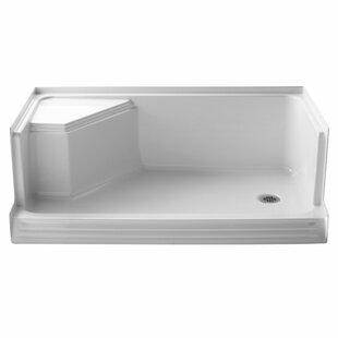 Order Memoirs 60 x 36 Single Threshold Left-Hand Drain Shower Base with Integral Seat At Right By Kohler