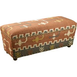AA Importing Upholstered Storage Bench