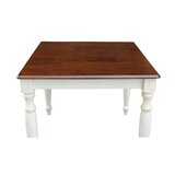 Trivette Dining Table with Turned Legs by August Grove®