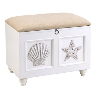 Francine Wood Storage Bench by Highland Dunes
