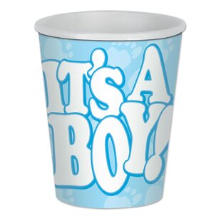 It's A Boy Paper Disposable Cup