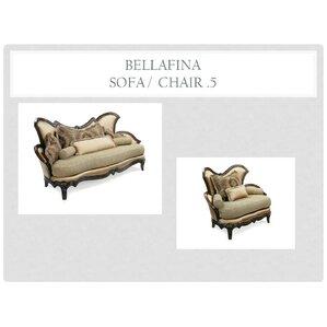 Bellafina 2 Piece Living Room Set by Benetti's Italia