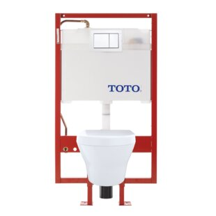 Toto MH Dual Flush D-Shape Wall Hung Toilet with Tornado Flush