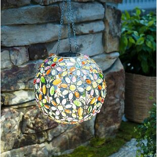 Modest Mosaic Glass Outdoor Solar Power Light Color Changing Lawn Ball Lantern Led Light Yard Garden Holiday Decoration Lighting Lamps Access Control Kits Security & Protection