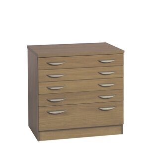 Barcomb 5 Drawer Filing Cabinet By Ebern Designs