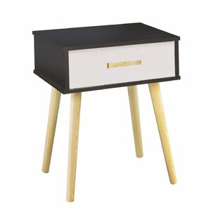 Clauson Modern 1 Drawer Nightstand