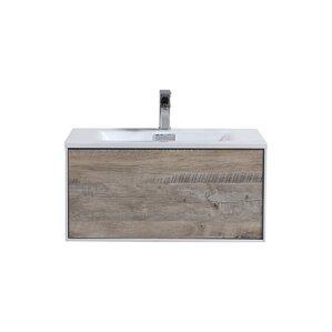 30 vanity with sink. Colton Wall Mount 30  Single Bathroom Vanity Modern Vanities Cabinets AllModern