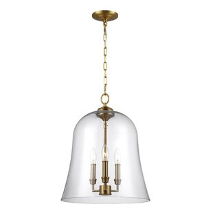 Darby Home Co Chilcott 3-Light Bell Pendant