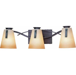 Volume Lighting Lodge 3-Light Vanity Light