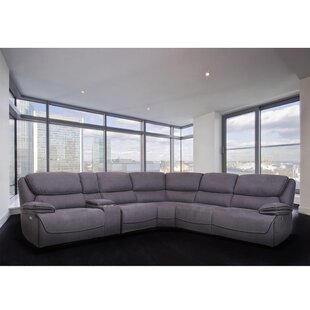 Shop Halladay Reclining Sectional by Latitude Run