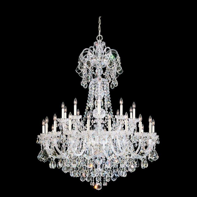 Schonbek Olde World 35 Light Crystal Chandelier Perigold