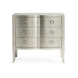 Whorton 3 Drawer Mirrored Accent Chest by House of Hampton®