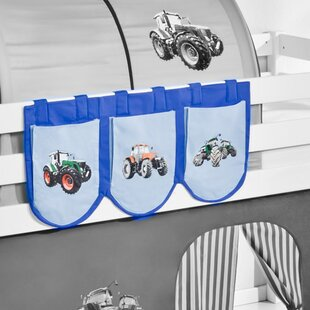 Tractor Bunk Bed Pocket By Zoomie Kids