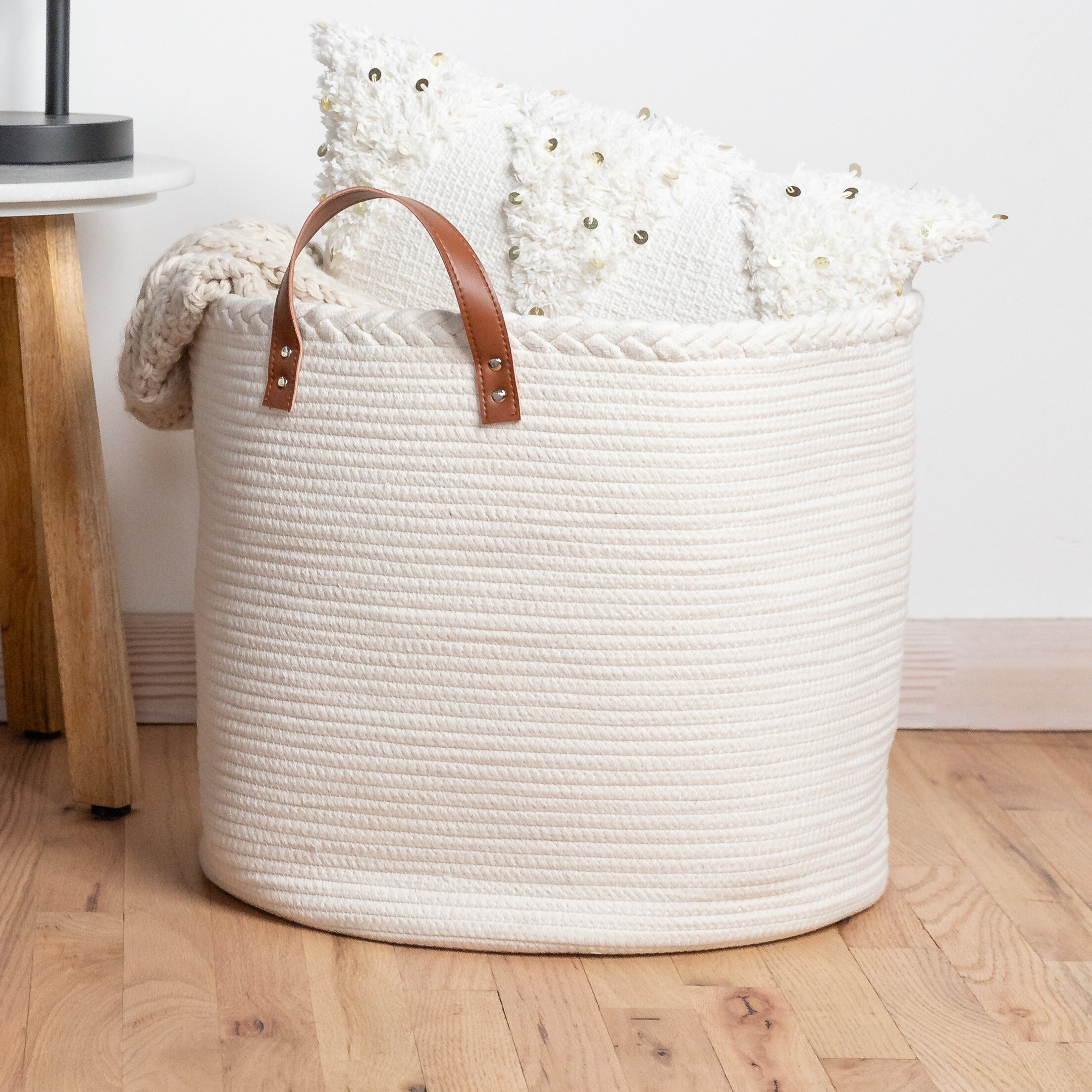 Gracie Oaks Multi Use Decorative Laundry Basket Wayfair