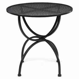 Pismo Wrought Iron Bistro Table By Rosalind Wheeler