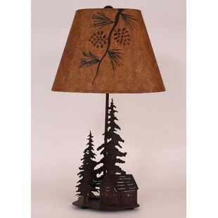 Compare Pine Tree 25.5 Table Lamp By Coast Lamp Mfg.