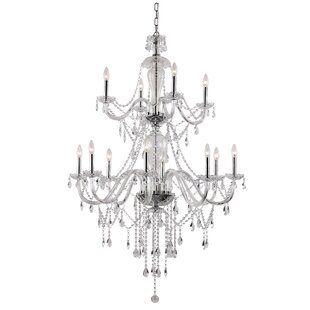 Barlowe 12 Light Crystal Chandelier by Astoria Grand