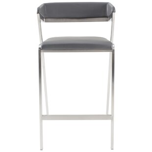 stools product from b low back counter en goods lowback bend stool by bar architonic