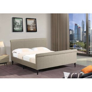 Pool Sleigh style platform bed by Canora Grey