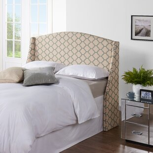Cynthia Upholstered Wingback Headboard by Alcott Hill