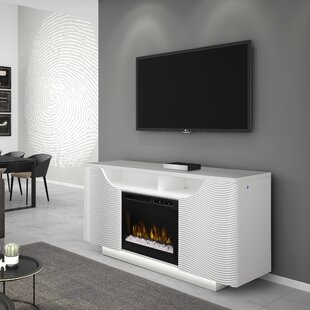 Ethan TV Stand for TVs up to 65 with Fireplace by Dimplex